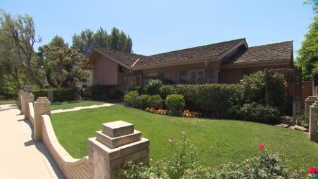 Exterior of the home used in establishing shots for 'The Brady Bunch'