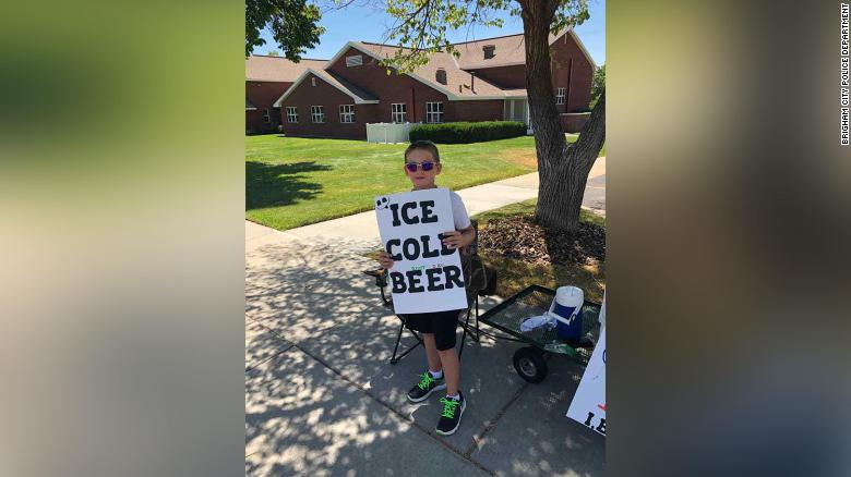 11 >> Instead Of Lemonade This 11 Year Old Is Selling Ice Cold Beer Cnn