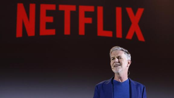 ROME, ITALY - APRIL 18:  Reed Hastings attends Reed Hastings panel during Netflix