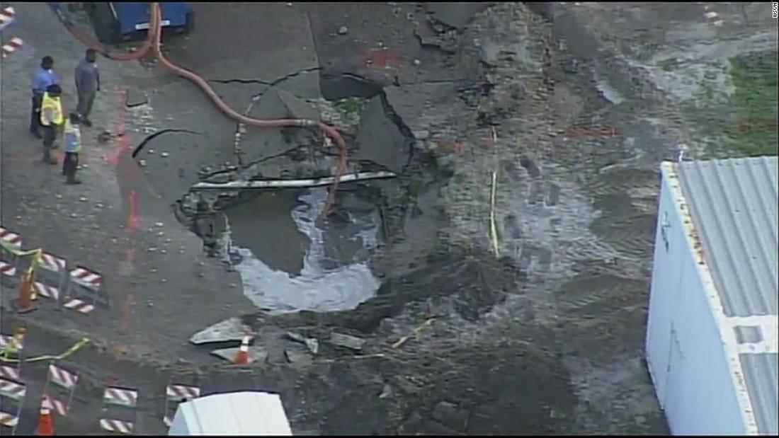 Fort Lauderdale could be without water until Friday due to water main break, officials say