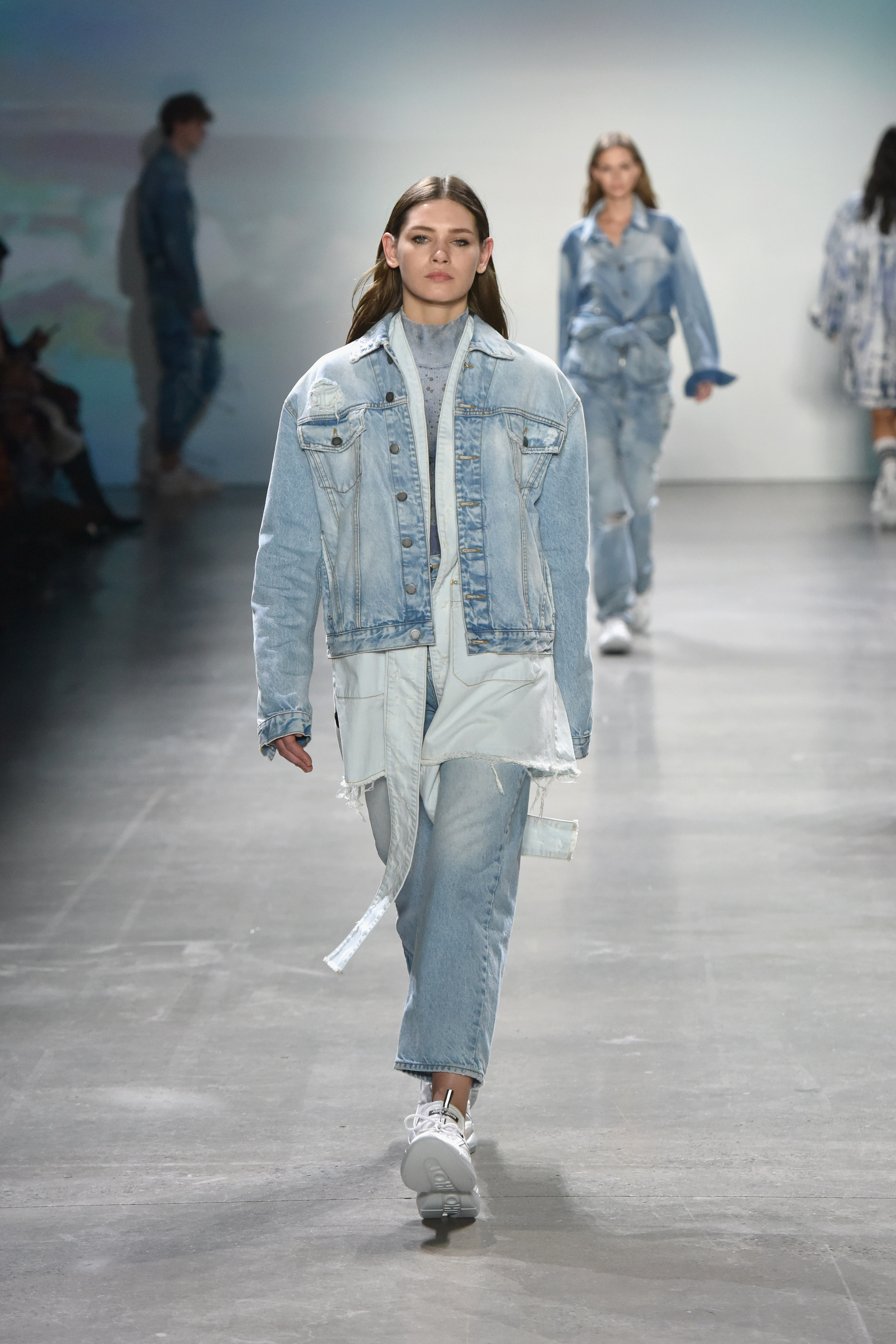 Model jeans image Rivets On Jeans Could Be A Thing Of The Past Cnn Style