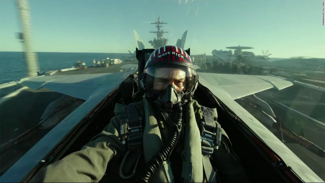 Tom Cruise soars in 'Top Gun: Maverick' trailer