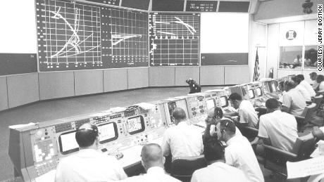 A look at mission control.