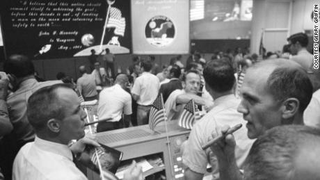 Apollo 11 Mission Control Celebrates Splashdown