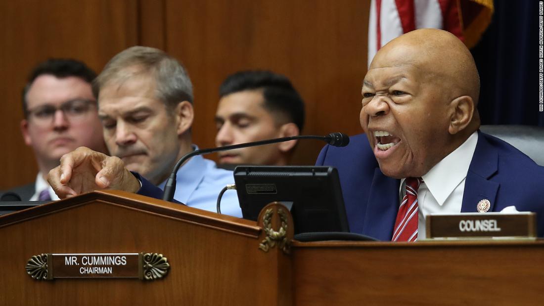 Cummings erupts at Trump's DHS chief