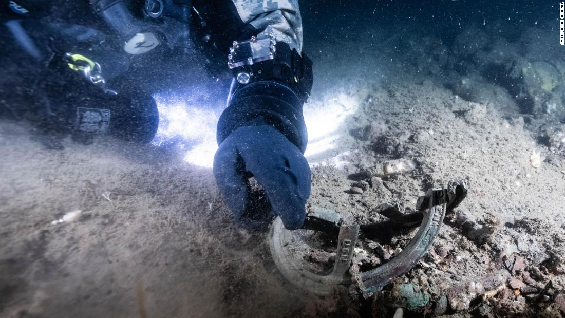 This Navy warship went down in World War II with 49 crew members aboard. Divers finally found it after 75 years