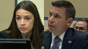 Ocasio-Cortez confronts McAleenan over border agent Facebook group