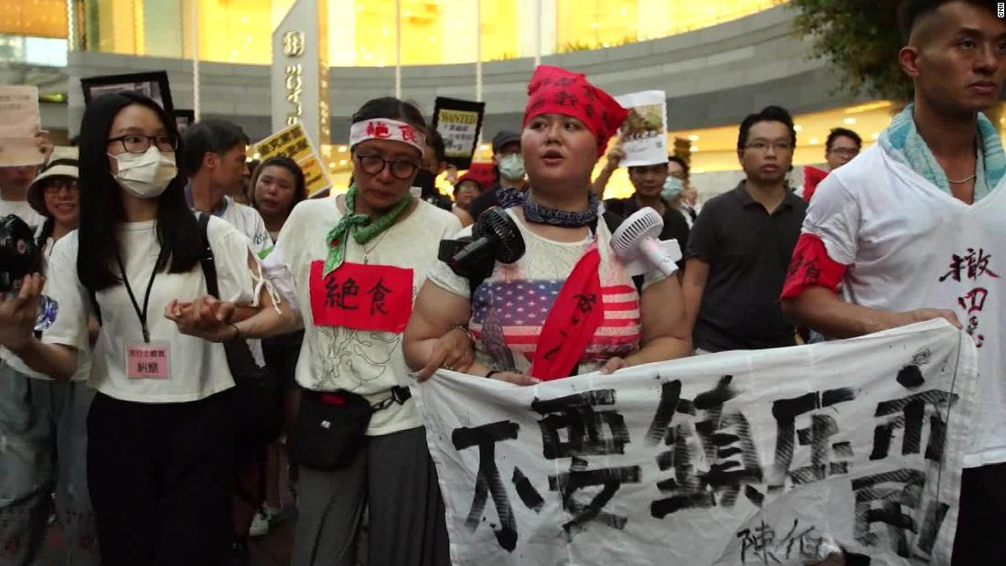 Hong Kong protesters fighting to be heard
