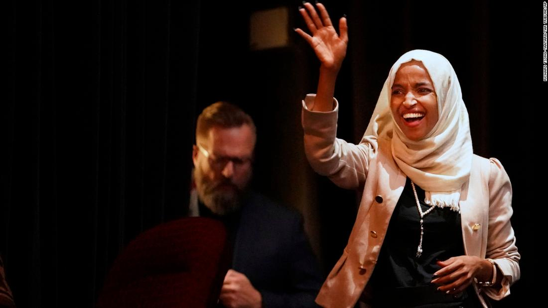 Ilhan Omar at town hall: Trump 'is threatened because we are inspiring people to dream'