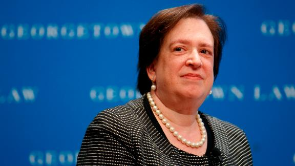 U.S. Supreme Court Justice Elena Kagan attends an event at Georgetown Law, Thursday, July 18, 2019, in Washington.