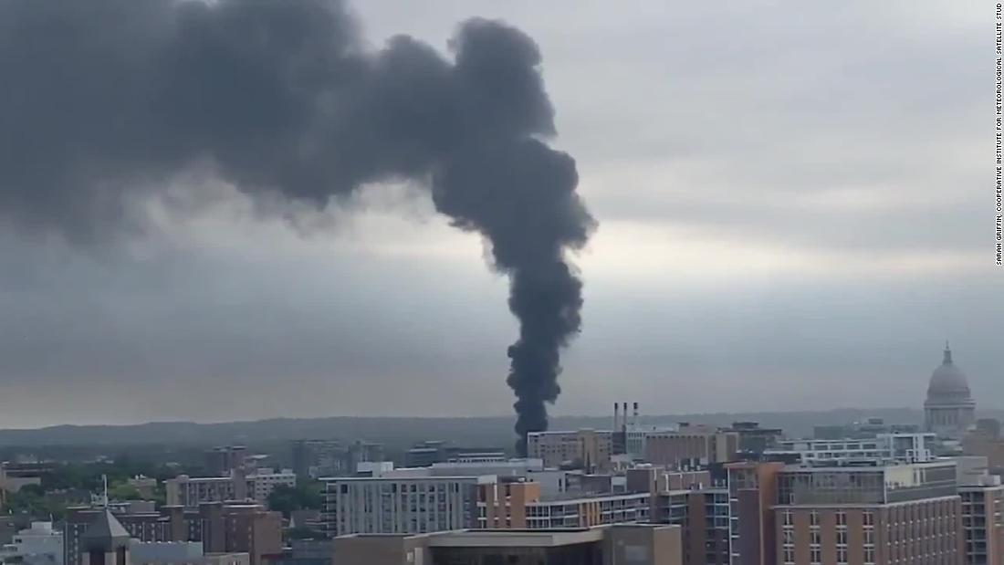 Fire at electric substation leaves 13,000 without power in Madison, Wisconsin, during heat wave