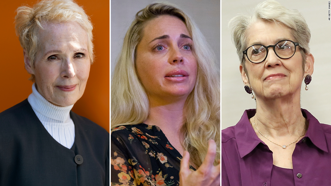 Donald Trump's accusers: 'The forgotten' women of the #MeToo movement