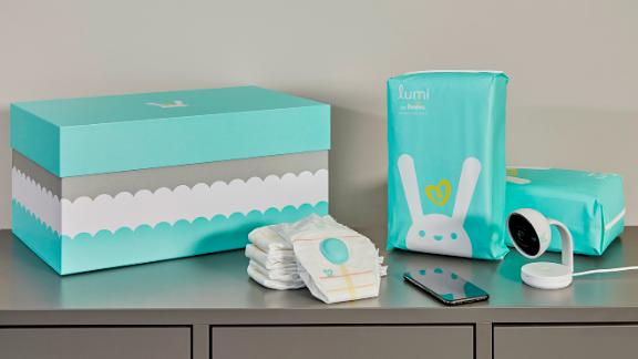 The Lumi by Pampers line