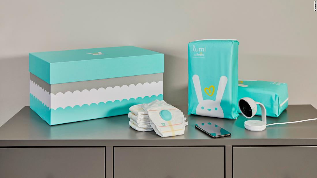 Pampers is making a 'smart' diaper. Yes, really