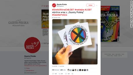 Magazine to give out 'LGBT-free zone' stickers to readers