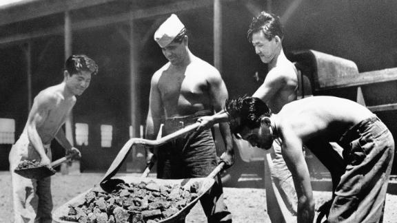 Americans of Japanese ancestry offered their services to the military and called themselves the Varsity Victory Volunteers.