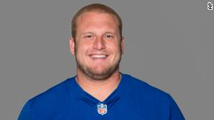 FILE - This 2012 file photo, shows Mitch Petrus of the New York Giants NFL football team.  (AP Photo/File)