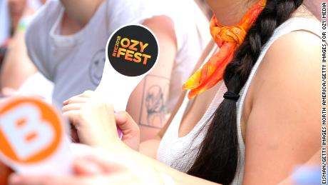 New York Mayor Bill de Blasio says OZY Fest has been canceled.