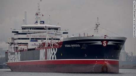'Alter your course,' Iranians warned before seizing UK-flagged ship