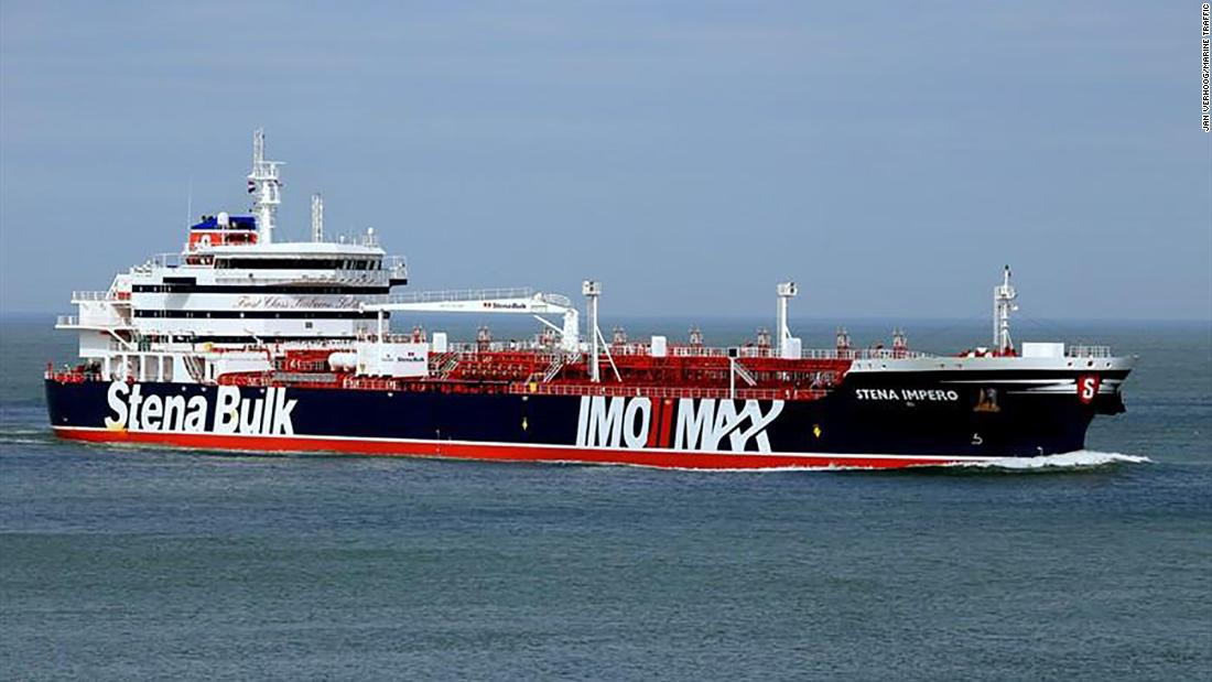 Iran says UK tanker wrongly used exit lane to enter the Strait of Hormuz