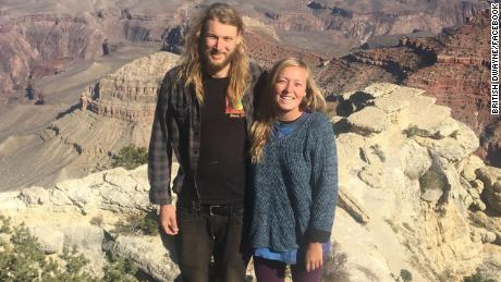 Two adults, identified as Chynna Noelle Deese of the United States and Lucas Robertson Fowler of Australia, were found dead on the Alaska Highway 12.5 miles south of Liard Hot Springs in British Columbia, Canada on Monday.