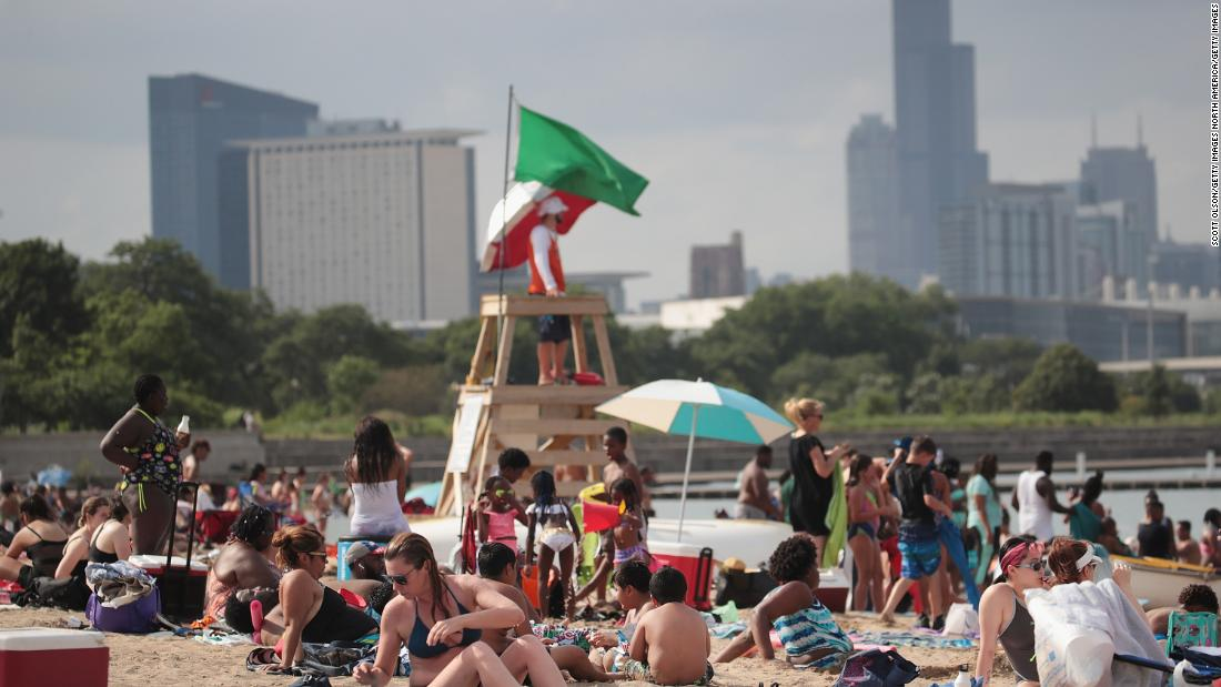 A heat wave in Chicago 24 years ago left more than 700 dead