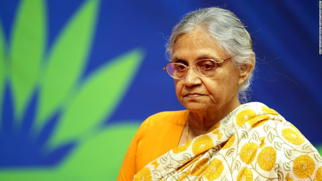 Veteran Indian politician Sheila Dikshit dies aged 81