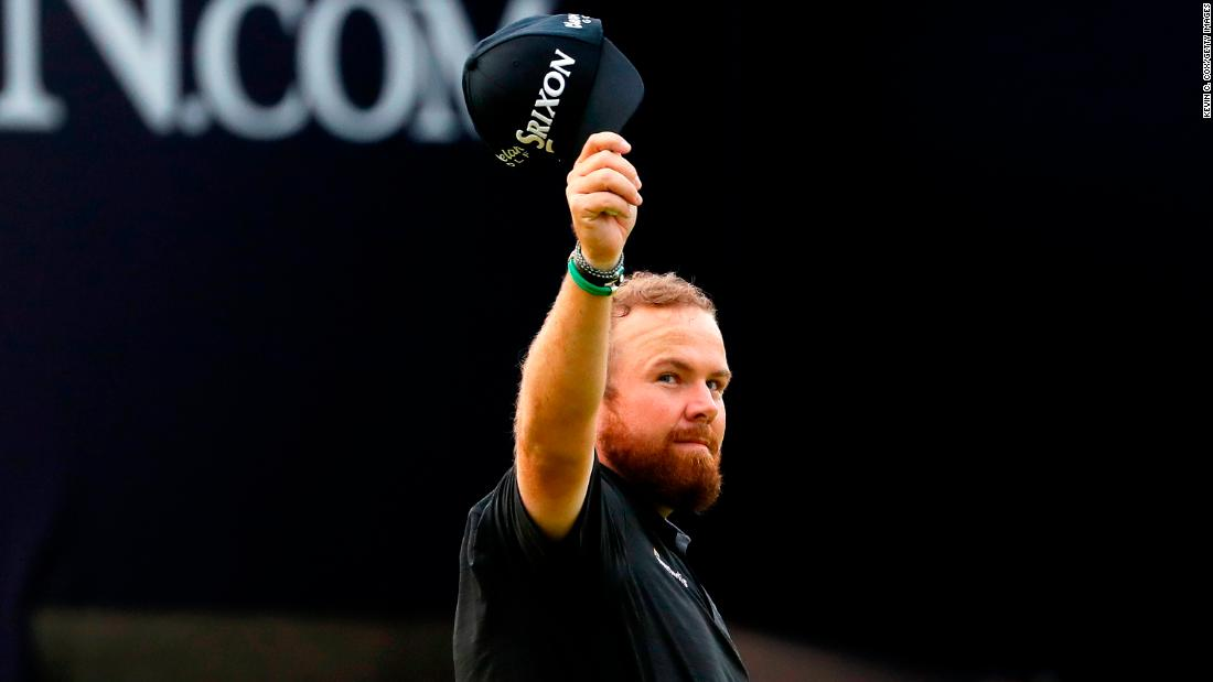 Shane Lowry lights up Open with stunning charge