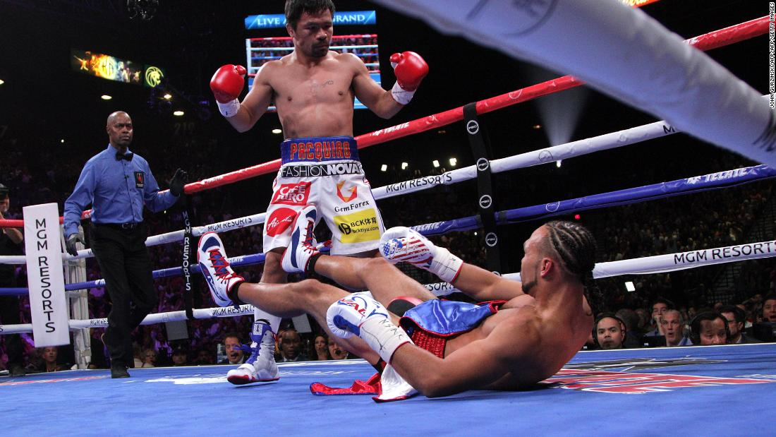 Manny Pacquiao beats Keith Thurman for welterweight crown - CNN