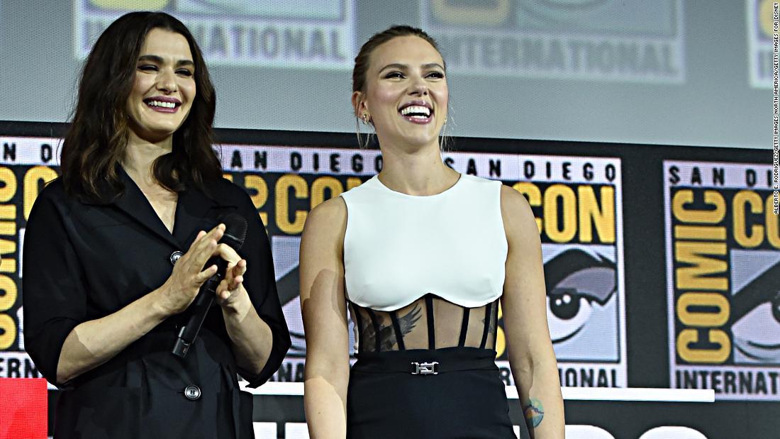 'Black Widow' cast drops hints about the superhero's ledger