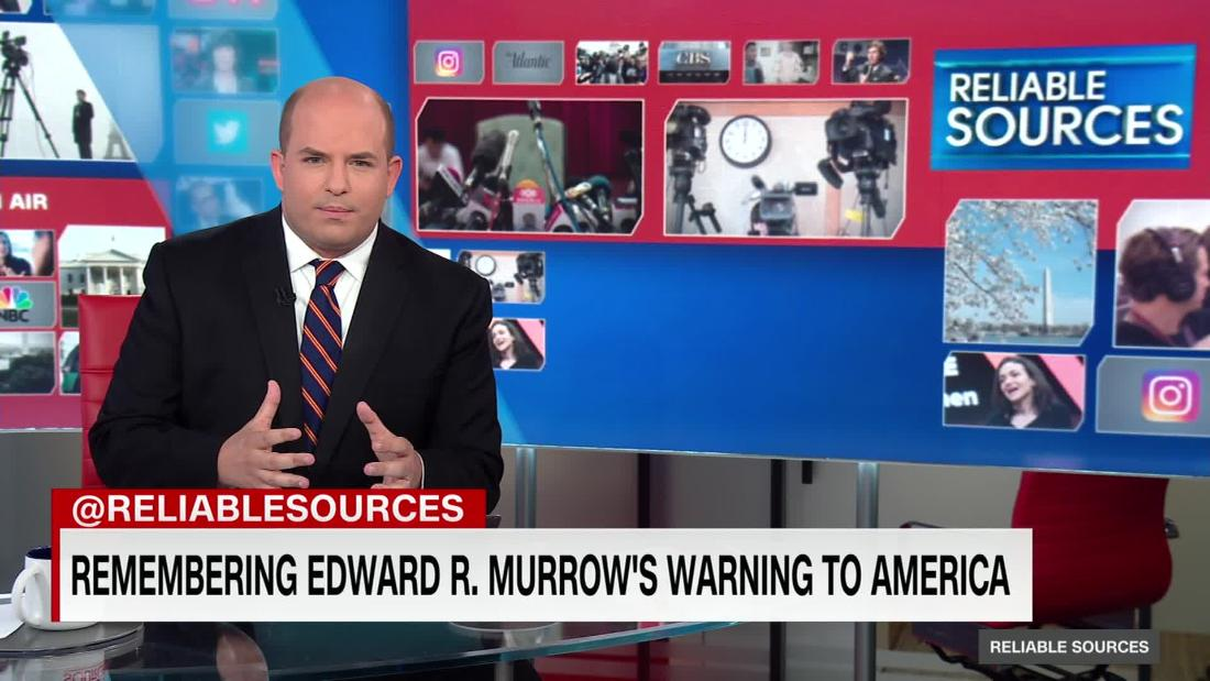 Remembering Edward R. Murrow's warning to America