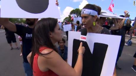 Puerto Rico Protester On Governor We Cannot Forgive Him