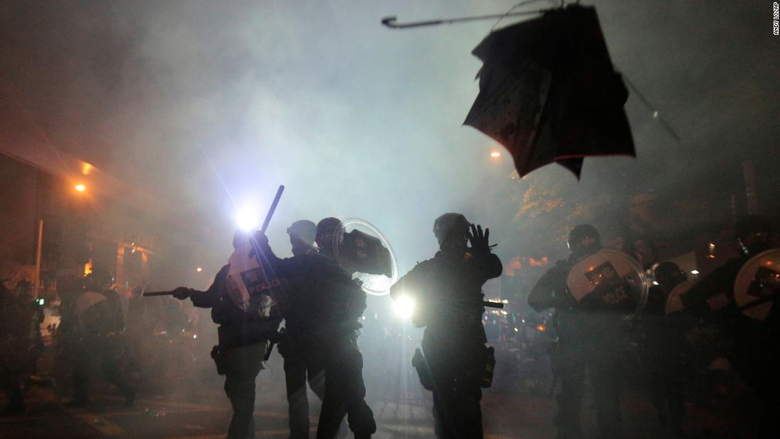 Hong Kong is teetering on the edge as protests take a darker turn