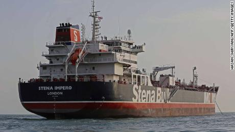 The British-flagged tanker Stena Impero and its 23 crew members were seized by Iran.