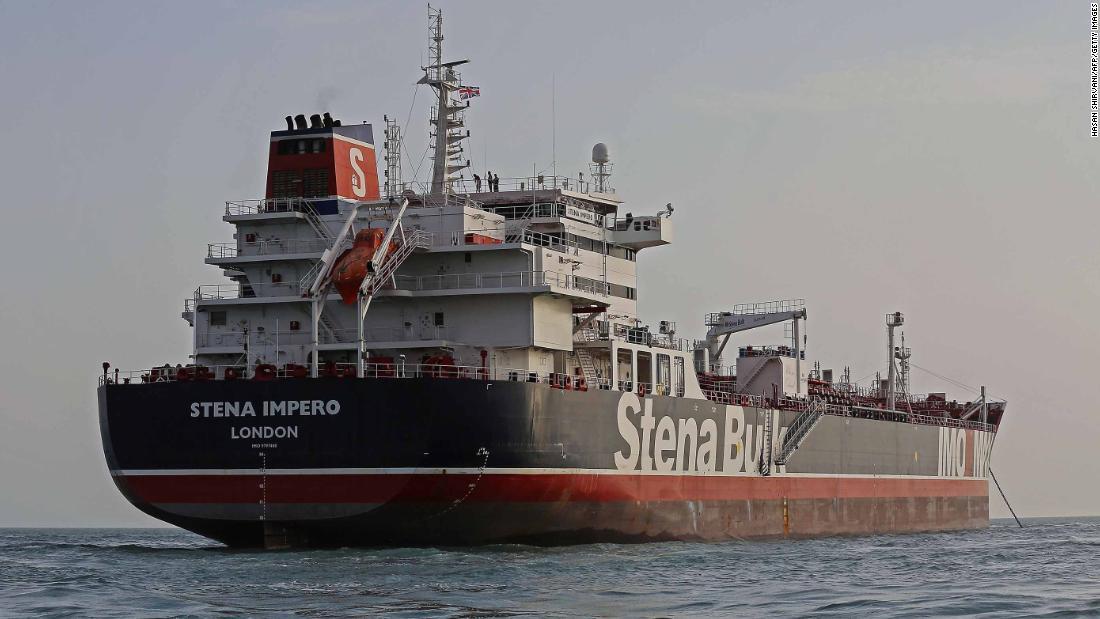 UK-Flagge fahrenden tanker Blätter iranischen Hafen, nachdem er statt für Monate