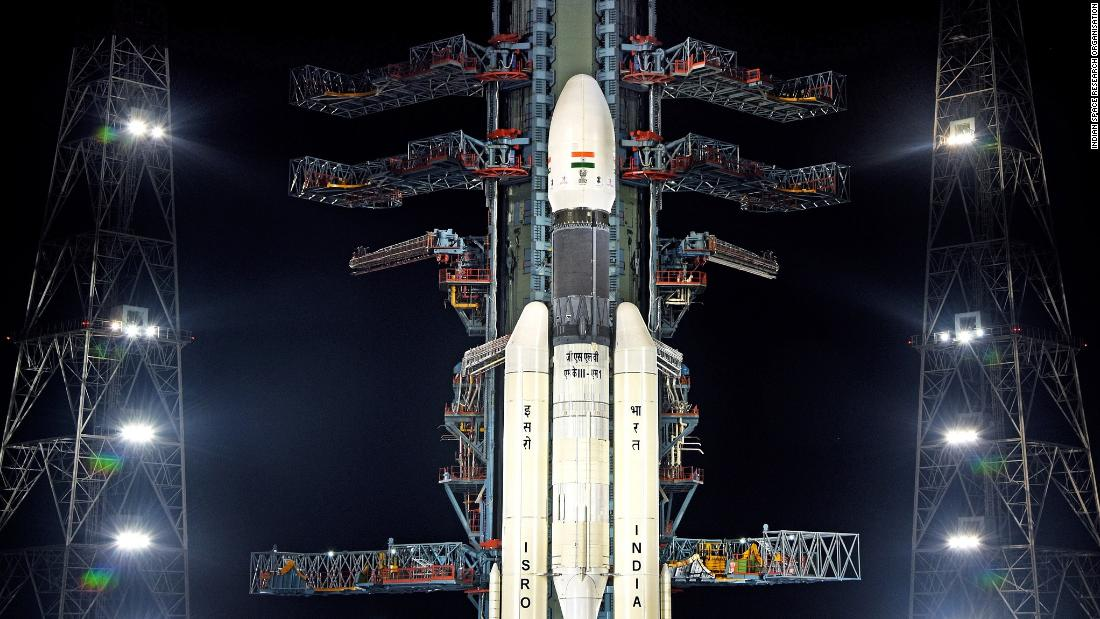 Chandrayaan-2: Success in India's second attempt at launching Moon mission