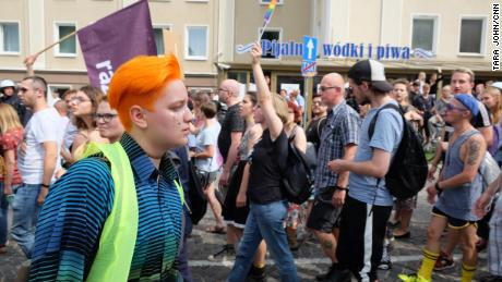 A city's first pride march was meant to be a day of joy. The far right turned it into chaos