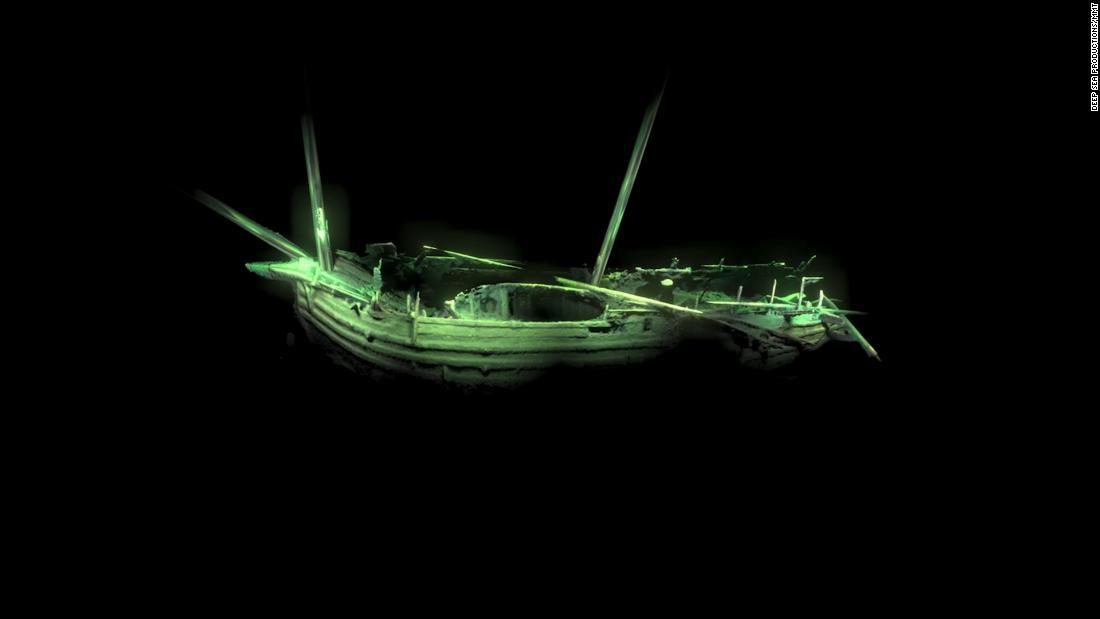 500 Jahre altes Schiffswrack entdeckt, der mithilfe von Roboter-Kameras