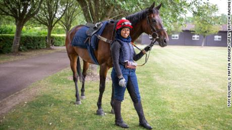 Mellah hopes to inspire other Muslim athletes when she competes at Goodwood.