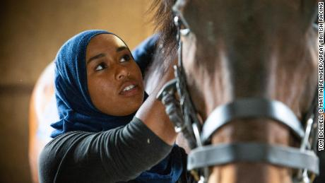 Teen set to be the first jockey wearing hijab at a British racecourse