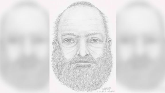 Canadian authorities released a sketch of an unknown man whose body was found near Dease Lake in British Columbia.