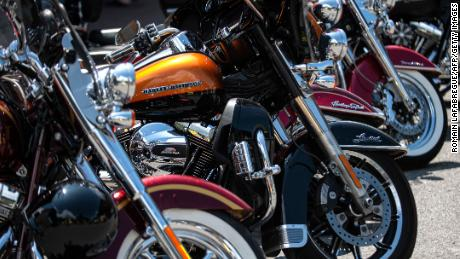 Harley-Davidson's stock tanks as motorcycle sales continue to slide
