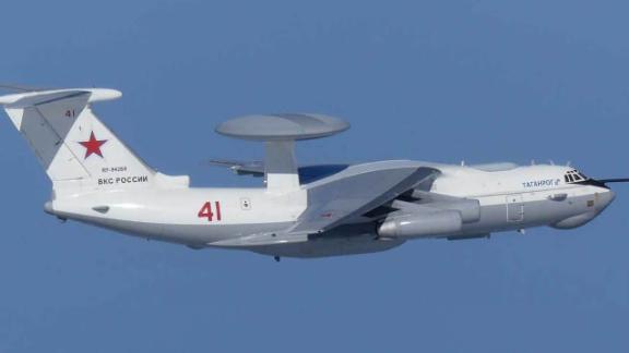 Russian A-50 AWACS command and control aircraft. South Korea