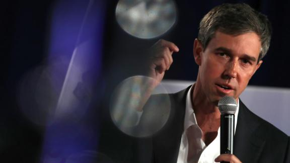 SIOUX CITY, IOWA - JULY 19: Democratic presidential hopeful former U.S. Rep. Beto O'Rourke (D-TX) speaks during the AARP and The Des Moines Register Iowa Presidential Candidate Forum on July 19, 2019 in Sioux City, Iowa. Twenty democratic presidential hopefuls are participating in the AARP and Des Moines Register candidate forums that will feature four candidates per forum that are being to be held in cities across Iowa over five days. (Photo by Justin Sullivan/Getty Images)