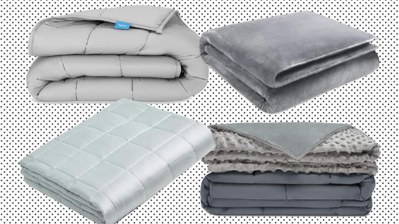 Top weighted blankets