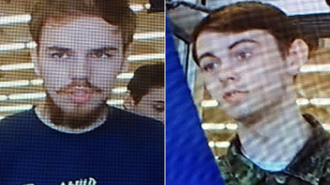 Kam McLeod, left, and Bryer Schmegelsky are wanted in connection with three deaths in British Columbia, Canada.