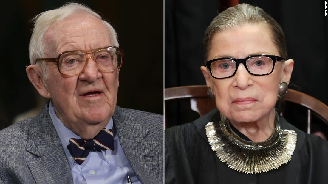 READ: Justice Ruth Bader Ginsburg's eulogy of John Paul Stevens