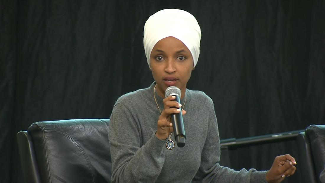 Rep. Omar calls audience member's question 'appalling'