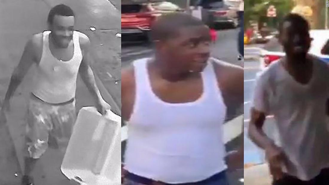 NYPD says person in custody after water-dousing incidents