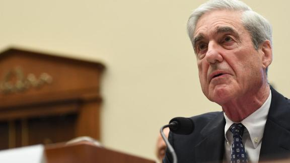 Former Special Prosecutor Robert Mueller testifies before Congress on July 24, 2019, in Washington, DC. - Robert Mueller's long-awaited testimony to the US Congress opened Wednesday amid intense speculation over whether he would implicate President Donald Trump in criminal wrongdoing. (Photo by SAUL LOEB / AFP)